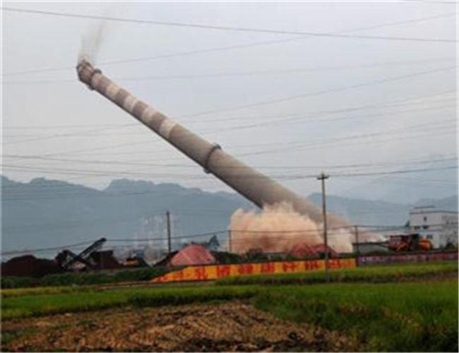 九台烟囱拆除公司欢迎您