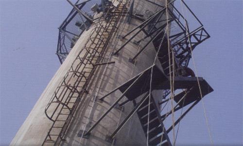伊宁烟囱安装旋转爬梯公司欢迎您