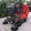 供应物业小型多功能电动扫地车 搅拌站扫地机驾驶式扫路车