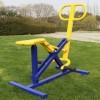 户外建身路径 塑木健身器材
