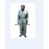 防毒服,全封闭防毒服,连体式胶布防毒衣,橡胶耐酸碱防护服